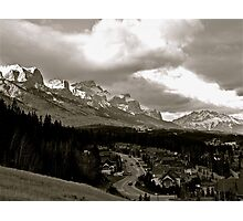 Canmore Photographic Print
