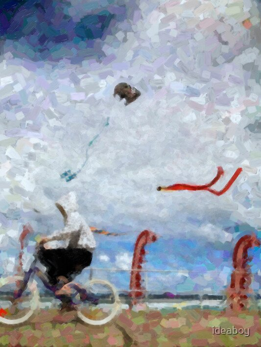 bondi festival of the wind by ideaboy