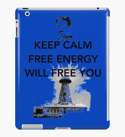 Keep Calm Tesla  iPad Case/Skin