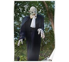 Ghoulish magistrate Poster
