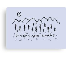 Rivers & Roads Canvas Print