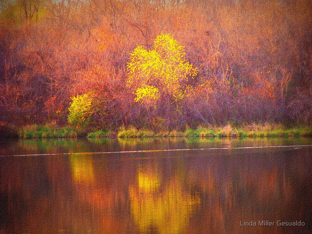 Paintbrush Trees by Linda Miller Gesualdo