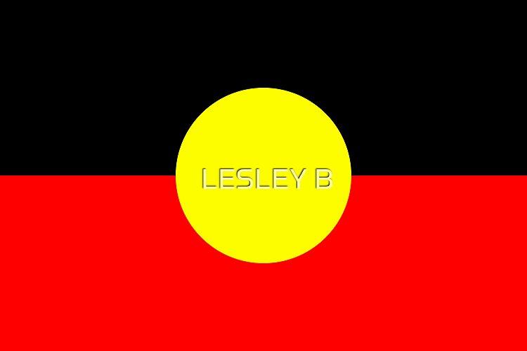 Aboriginal Flag   (AUSTRALIA) by LESLEY B