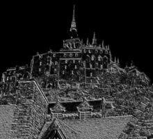 Mont Saint Michel #6 Sticker