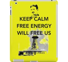 Keep Calm Tesla Free Us iPad Case/Skin