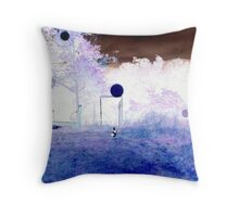 Odessa back from the woods Throw Pillow