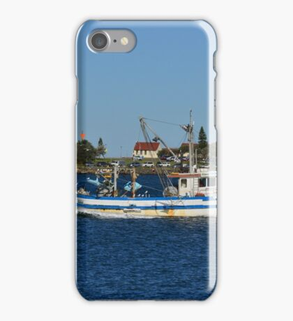NEWCASTLE HARBOUR. iPhone Case/Skin