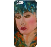 Merrie Monarch Hula Maiden iPhone Case/Skin