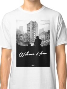 Minimal Silhouette Poster Design - 'Welcome Home' Classic T-Shirt