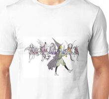 Flying Monkeys and Witch Unisex T-Shirt