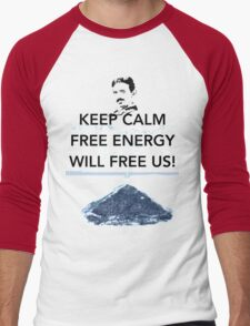 Keep Calm Bosnian Pyramid Men's Baseball ¾ T-Shirt