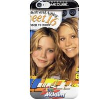 Mary Kate and Ashley Sweet 16 Licensed to Drive iPhone Case/Skin