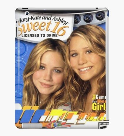 Mary Kate and Ashley Sweet 16 Licensed to Drive iPad Case/Skin