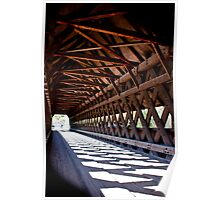 Cross Hatch Trusses Poster