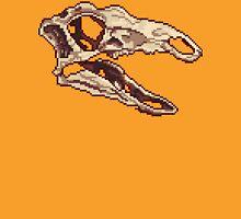 Stegosaurus Skull Sprite T-Shirt