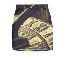 time Mini Skirt