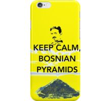 Keep Calm Tesla Bosnian Pyramids iPhone Case/Skin