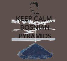 Keep Calm Tesla Bosnian Pyramids One Piece - Short Sleeve