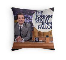 Tonight Show Jimmy Fallon Throw Pillow