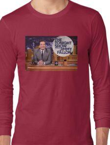 Tonight Show Jimmy Fallon Long Sleeve T-Shirt