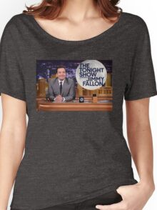Tonight Show Jimmy Fallon Women's Relaxed Fit T-Shirt