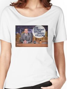 Tonight Show Jimmy Fallon Women's Relaxed Fit T-Shirt