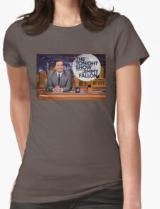 Tonight Show Jimmy Fallon Womens Fitted T-Shirt