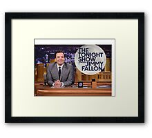 Tonight Show Jimmy Fallon Framed Print