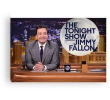 Tonight Show Jimmy Fallon Canvas Print