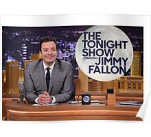 Tonight Show Jimmy Fallon Poster