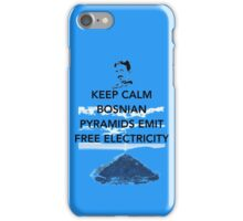 Keep Calm Free Pyramid Energy iPhone Case/Skin