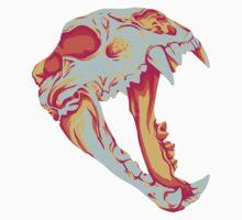 Bear Skull One Piece - Short Sleeve