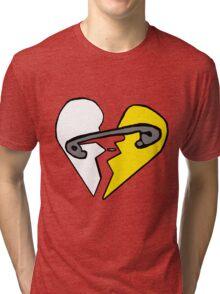 the new broken scene Tri-blend T-Shirt