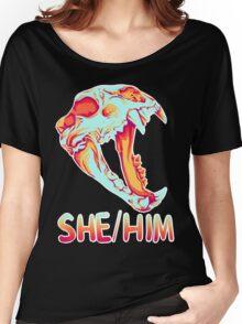 Bear Skull Women's Relaxed Fit T-Shirt