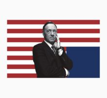 Frank Underwood House of Cards by caitlinkrose