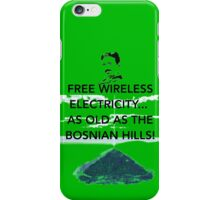 Free Energy Bosnian Pyramids iPhone Case/Skin
