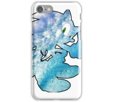 Sonic waves iPhone Case/Skin