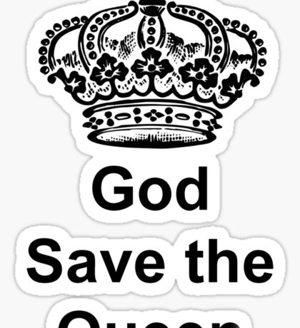 God Save the Queer Sticker