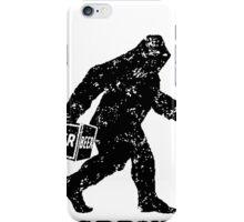 BigDrunk Bigfoot iPhone Case/Skin