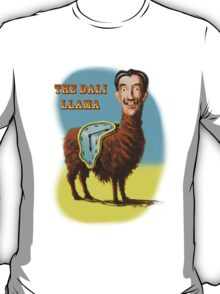 All hail the mysterious Dali Llama T-Shirt