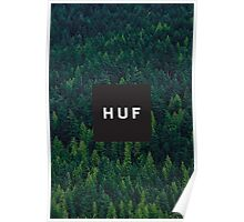 HUF - TREES Poster
