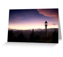 Light over Coonoor Greeting Card