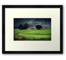 A stormy day in Dorrigo Framed Print