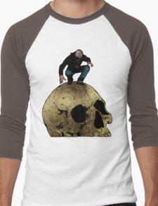 Leroy And The Giant's Giant Skull Men's Baseball ¾ T-Shirt