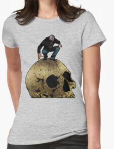 Leroy And The Giant's Giant Skull Womens Fitted T-Shirt
