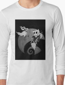 The Nightmare Before Adventure Time Long Sleeve T-Shirt