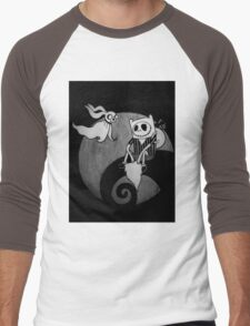 The Nightmare Before Adventure Time Men's Baseball ¾ T-Shirt