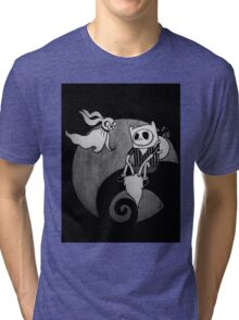 The Nightmare Before Adventure Time Tri-blend T-Shirt