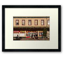 Hay Video World Framed Print