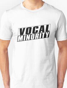 Vocal Minority - Cool Design Unisex T-Shirt